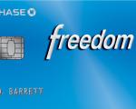 Chase Freedom Fourth Quarter 5% Cash Back Categories – 2018