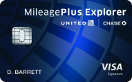 United mileageplus explorer card login