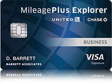 Vereinigt MileagePlus Explorer Karte