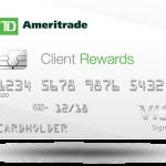 TD Ameritrade Client Rewards Card Review: 1.5% Rewards + 10% Bonus