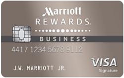 Chase Marriott Rewards Premier Business