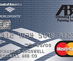 American Bar Association Business MasterCard with WorldPoints Rewards Review: 1x Rewards Points