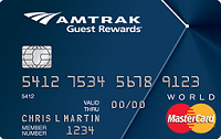Amtrak Guest Rewards World Master Card Review