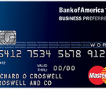 Business Preferred World MasterCard Review: 10,000 Bonus Miles