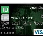 TD First ClassSM Visa Signature Credit Card
