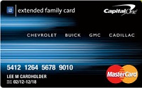 Capital One GM Extended Family Card Review