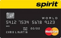 Spirit Airlines World Mastercard for Business Credit Card