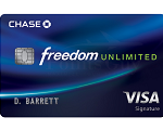Chase Freedom Unlimited Card Promotion: 3% Unlimited Cash Back On Every Purchase First Year