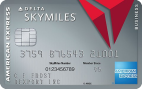 American Express Platinum Delta SkyMiles Business Credit Card Review:  35,000 Delta Skymiles +  5,000 MQM + $100 Statement Credit