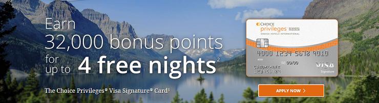 Choice hotel credit card