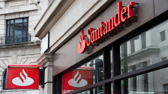 Santander Bank Logo B