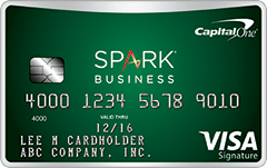 capital-one-spark-one-business-card-art