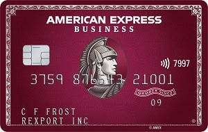 American Express Plum Business Card