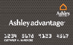 When You Apply For A Ashleyu0027s Furniture Ashley Advantage Store Credit Card,  You Will Be Able To Reap Full Benefits Of 24 Months Special Financing With  A ...