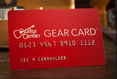 guitar center gear card review up to 5x points. Black Bedroom Furniture Sets. Home Design Ideas