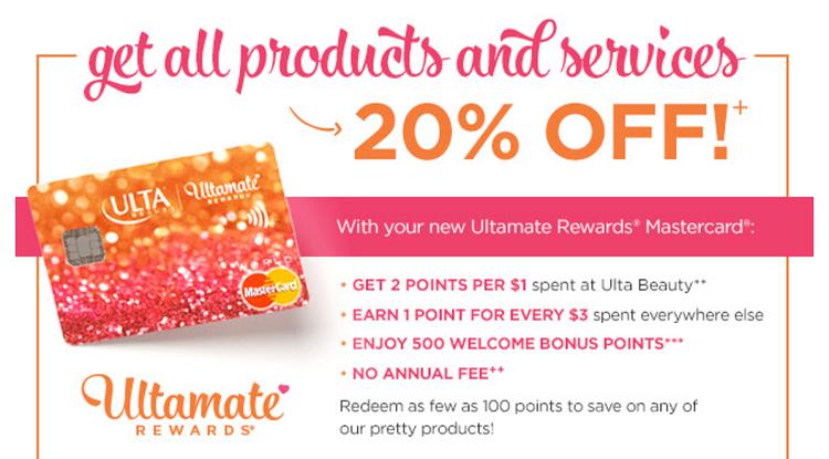 ultamate rewards card summary