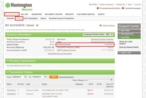 Swift code huntington bank / Curenncy exchange