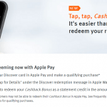 Discover Apple Pay Cash Back Redemption Review