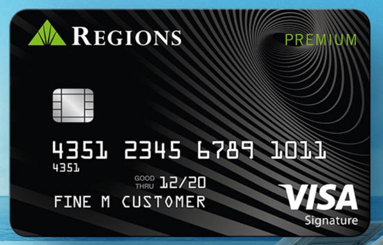 regions premium visa signature credit card review 300 bonus - Visa Signature Credit Card