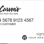 Carson's Store Credit Card Review