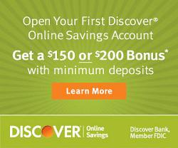 Discover Bank BCS OSA Bonus