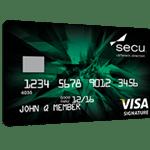 SECU Visa Signature Credit Card Review: $250 Cash Bonus [Maryland]