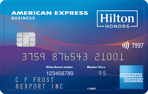 Best business card bonuses promotions june 2018 learn more with the hilton honors american express business card reheart Choice Image