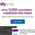 Ally Invest Brokerage Review: $50 to $3,500 in Bonus Plus Free Trades For 90 Days