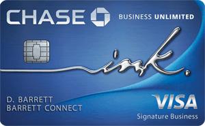 Chase Ink Business Unlimited Credit Card Bonus: $500 Cash Bonus + Unlimited 1.5% Cash Back + No Annual Fee