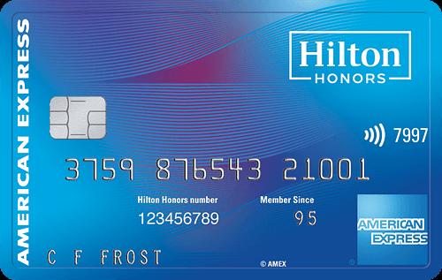 Hilton Honors Card from American Express Bonus: 100,000 Hilton Honors Bonus Points + No Annual Fee (Targeted)