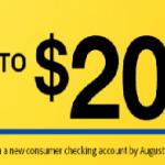 Bank & Trust Checking Bonus: $200 & $350 Promotion (AZ, CA, CO, IA, IL, KS, MO, MT, NM, WI)