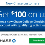 Chase College Checking Account Review: Earn $100 Bonus