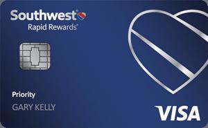 Southwest Rapid Rewards Priority Credit Card Review: 40,000 Points Bonus + 7,500 Points Cardmember Anniversary Bonus