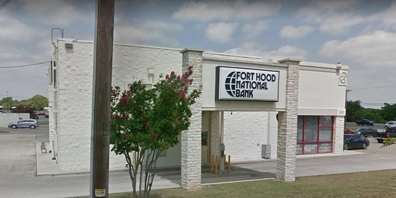 Fort Hood National Bank bonuses
