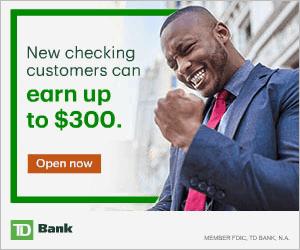 TD Bank Premier Checking Bonus Coupon Promo Code