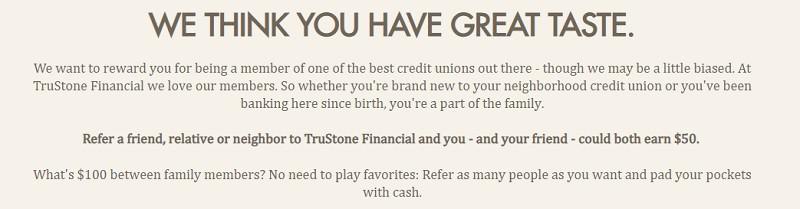 TruStone Financial Promotion