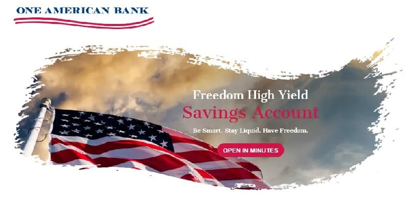 One American Bank Savings 1.72% APY Rate (Nationwide)