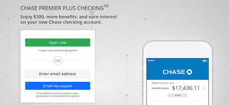 Premier Plus Checking account