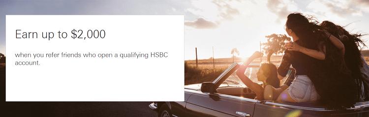 HSBC Bank Referral Bonus