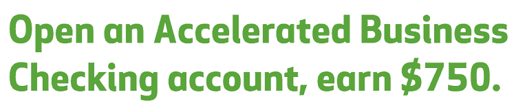 Accelerated Business Checking account