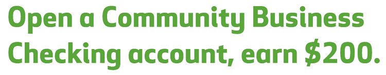 Community Business Checking account