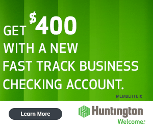Huntington Fast Track $400 Bonus Offer Promo Code Promotion