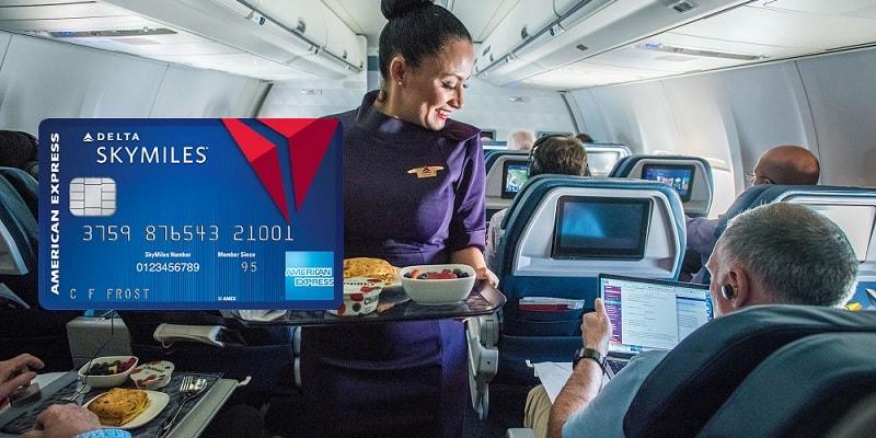 Blue Amex Delta SkyMiles Credit Card bonus promotion offer review