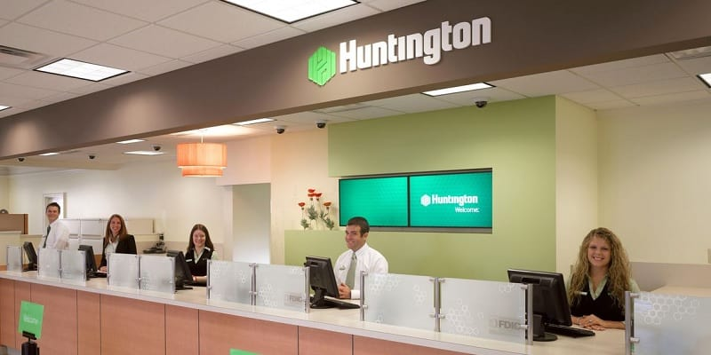 Huntington Bank Fast Track Business Checking account bonus promotion offer review