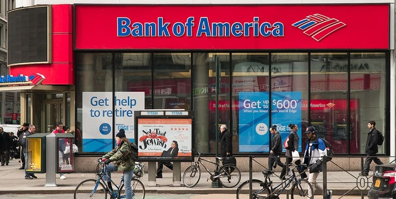 Bank of America $300