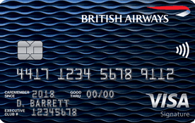 Chase British Airways Visa Signature Card