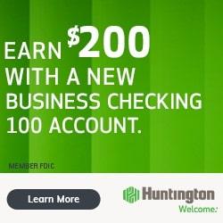 Huntington Business Checking 100