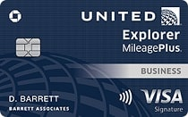 United Explorer Business Card T Banner