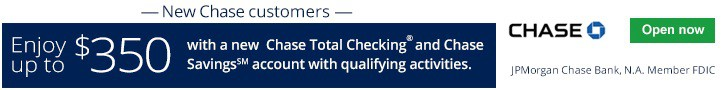Chase Total Checking Savings