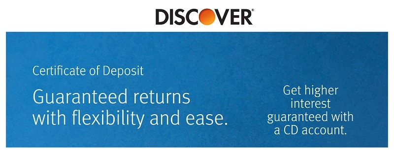 Discover Bank CD account